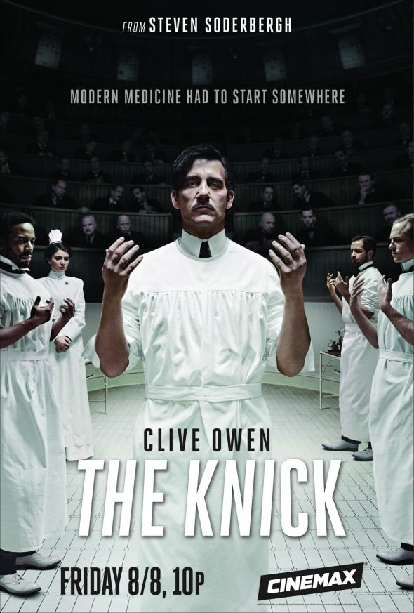 "Clive Own in Steven Soderbergh's ""The Knick"" for Cinemax"