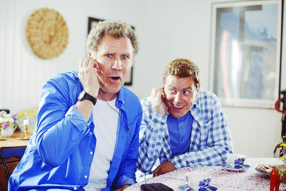 Will Ferrell and Greg Poehler in Welcome to Sweden.