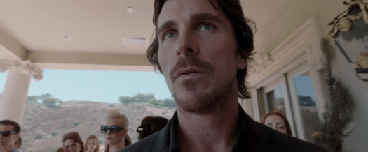 Christian Bale / Knight of Cups