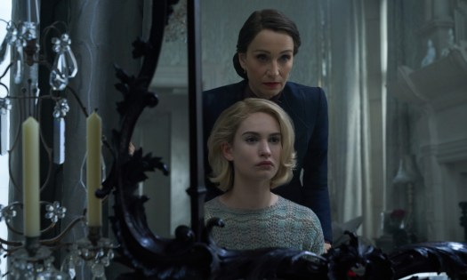 Kristin Scott Thomas and Lily James / Rebecca