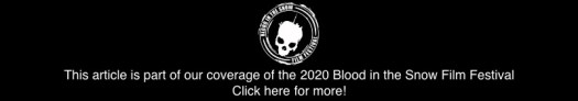 2020 Blood in the Snow Coverage Banner