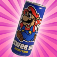 Super Mario Energy Drink