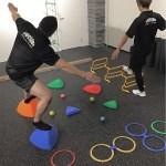 AFLのキッズトレーニングコースで使う道具その2