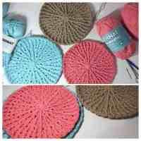 This DIY Crochet Floor Pouf Is Exactly What Your Tired