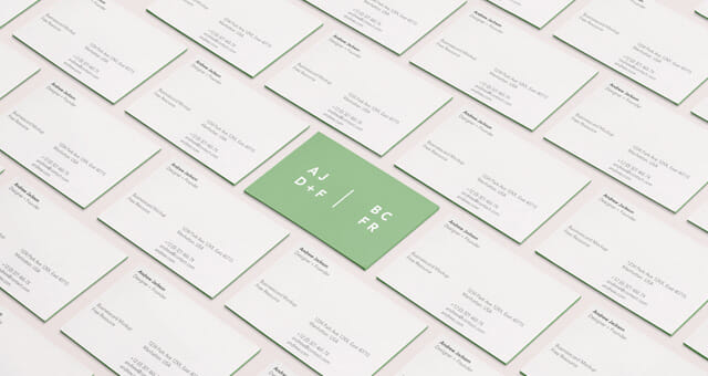Branding business card mockup awesome mockups colourmoves Choice Image