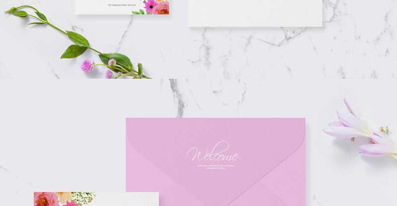 Wedding greeting invitation mockup awesome mockups stopboris Image collections