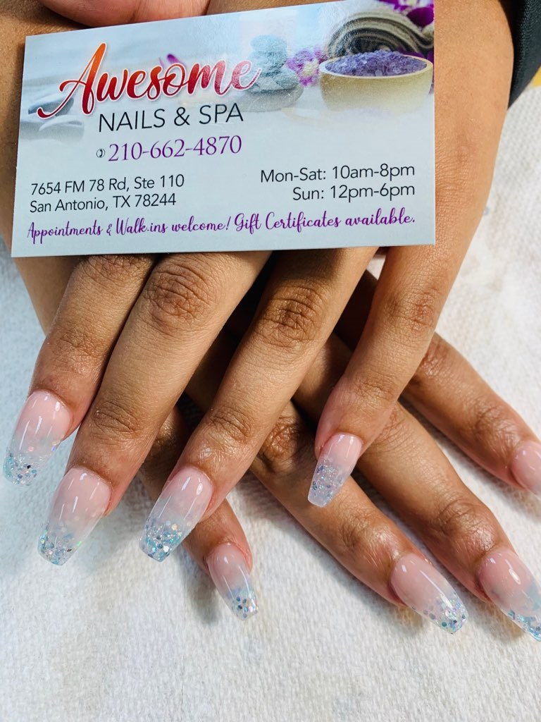 Gel Pedicure Near Me : pedicure, Awesome, Nails, Should, About, Acrylic, Salon, 78244