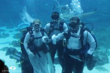 Underwater Couple Gets Married