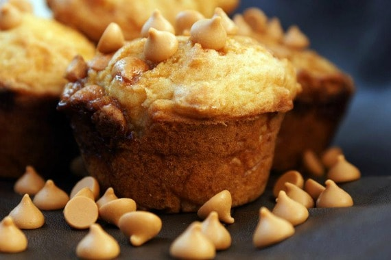 Caramel Butterscotch Muffins