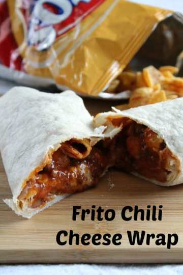 Frito Chili Cheese Wrap from Awesome on 20