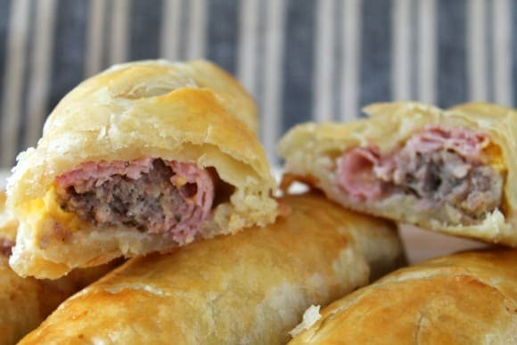Fancy Pants Sausage Rolls with Ham and Cheddar | How to be Awesome on $20 a Day