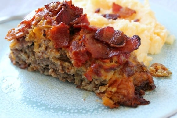 Bacon Cheeseburger Meatloaf | How to be Awesome on $20 a Day