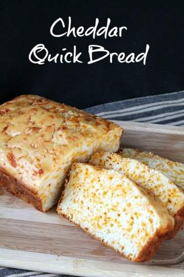 Cheddar Quick Bread | How to be Awesome on $20 a Day