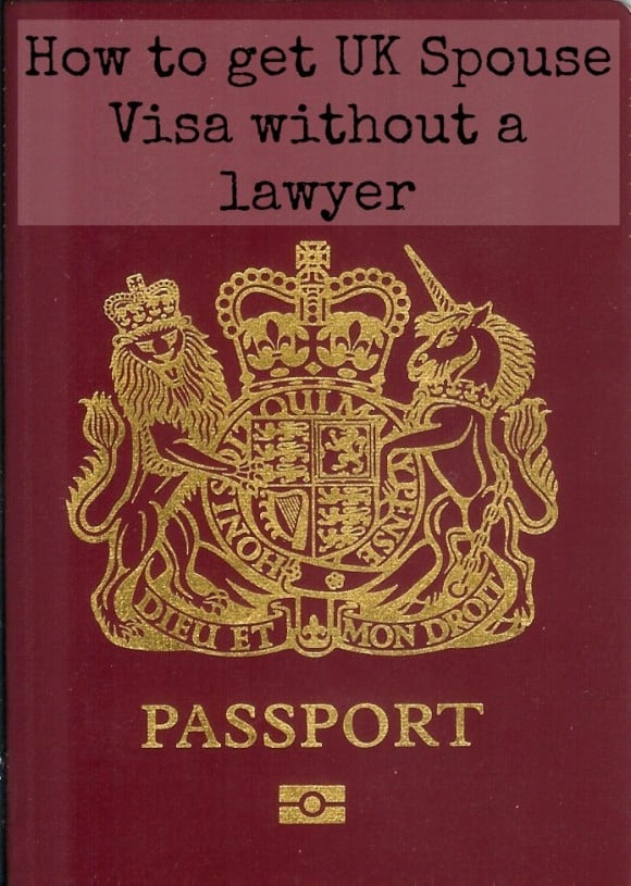 How to get a UK Spouse Visa without a lawyer