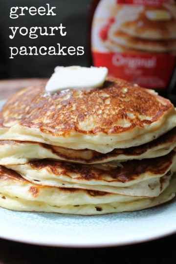 Greek Yogurt Pancakes | How to be Awesome on $20 a Day