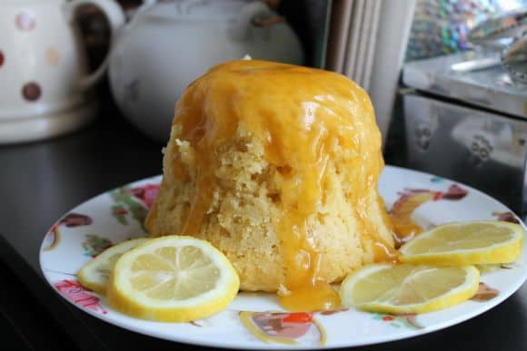 5 Minute Microwave Lemon Cake2