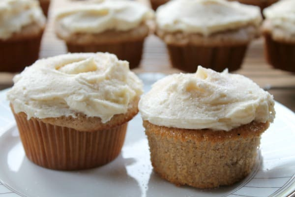 Snickerdoodle Cupcakes   How to be Awesome on $20 a Day