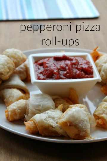 Pepperoni Pizza Roll-Ups | How to be Awesome on $20 a Day