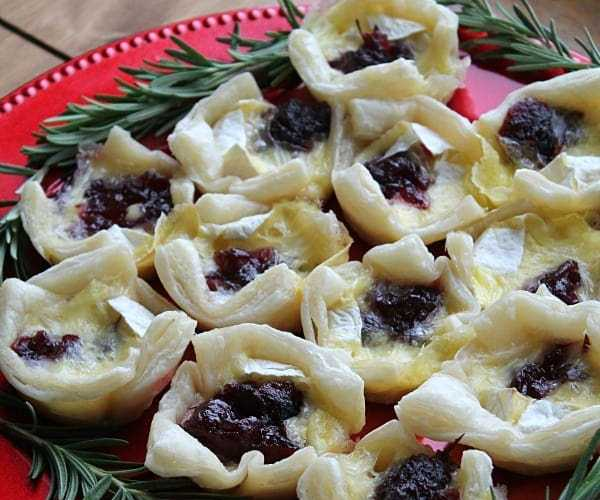 Cranberry Brie Bites | How to be Awesome on $20 a Day