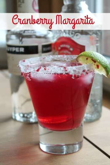 Cranberry Margarita | How to be Awesome on $20 a Day