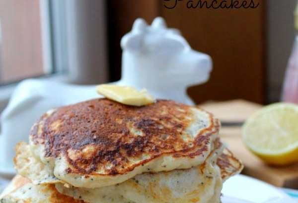 Lemon Poppyseed Pancakes | How to be Awesome on $20 a Day