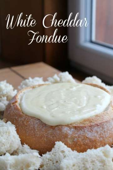 White Cheddar Fondue   How to be Awesome on $20 a Day