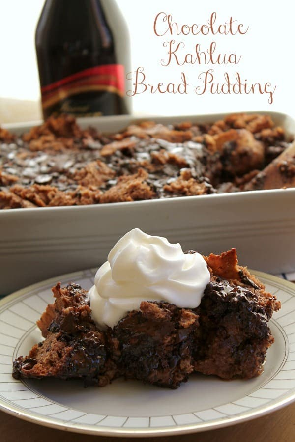 Chocolate Kahlua Bread Pudding | How to be Awesome on $20 a Day