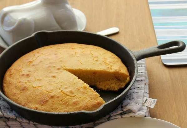 Skillet Cornbread | How to be Awesome on $20 a Day