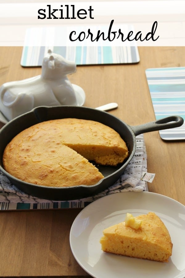 Skillet Cornbread   How to be Awesome on $20 a Day