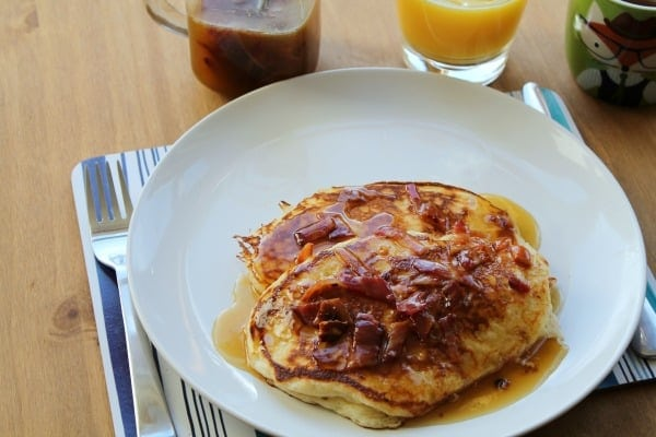 Maple Bacon Pancake Syrup | How to be Awesome on $20 a Day