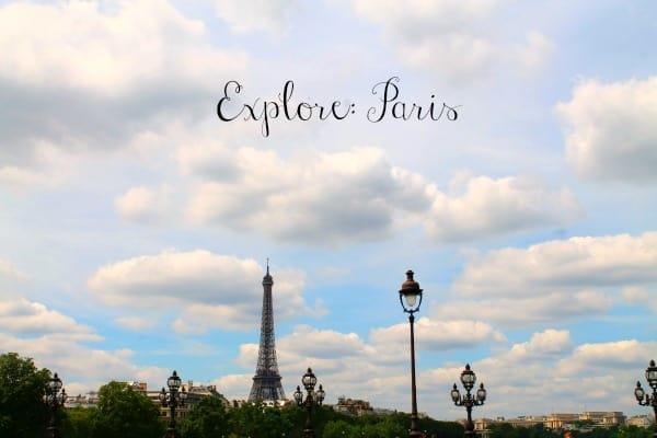 Explore: Paris