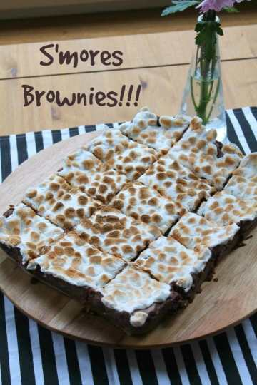 S'mores Brownies   How to be Awesome on $20 a Day
