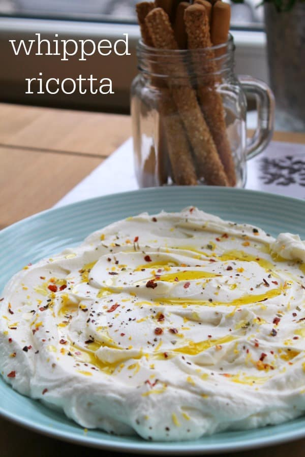 Whipped Ricotta | How to be Awesome on $20 a Day