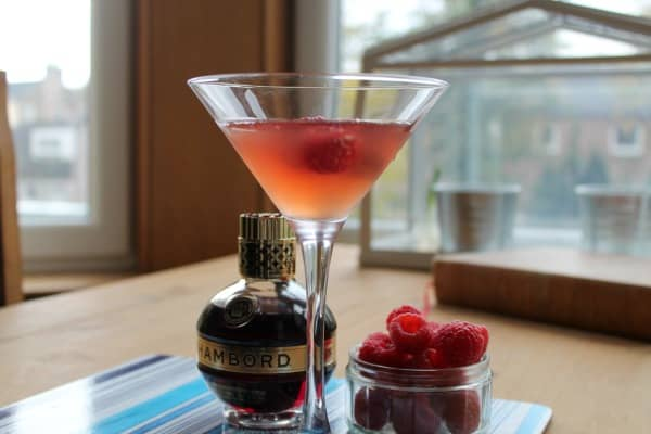 French Martini   How to be Awesome on $20 a Day