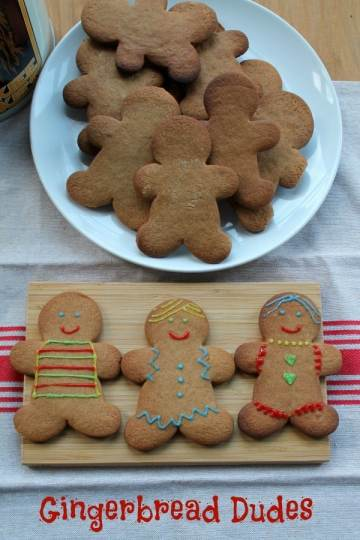 Gingerbread Dudes   How to be Awesome on $20 a Day