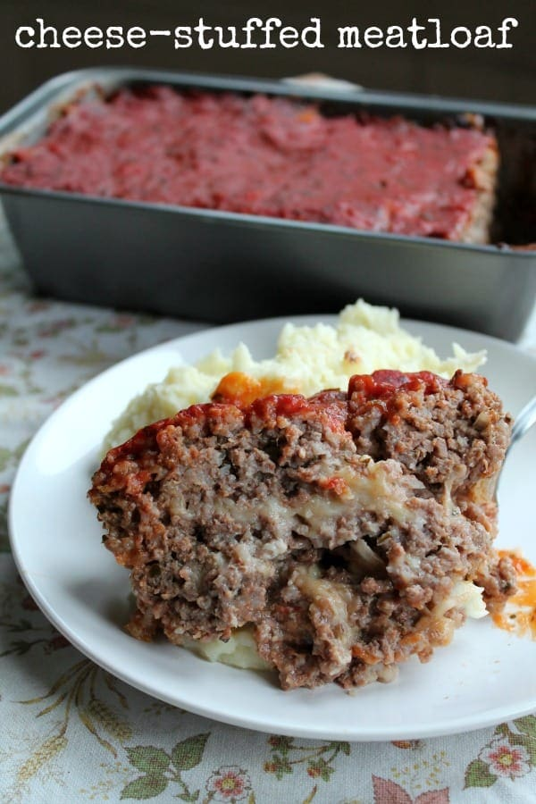 Cheese-Stuffed Meatloaf | How to be Awesome on $20 a Day