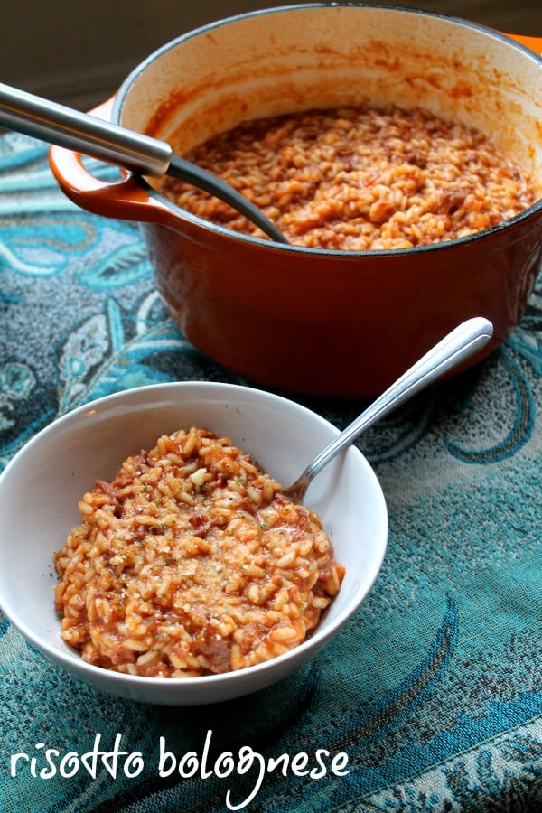 Risotto Bolognese   How to be Awesome on $20 a Day
