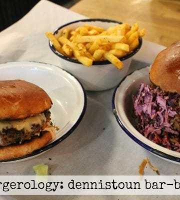 Burgerology: Dennistoun Bar-B-Que