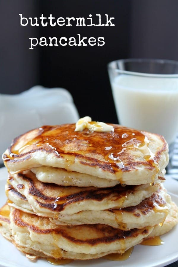 Buttermilk Pancakes   How to be Awesome on $20 a Day