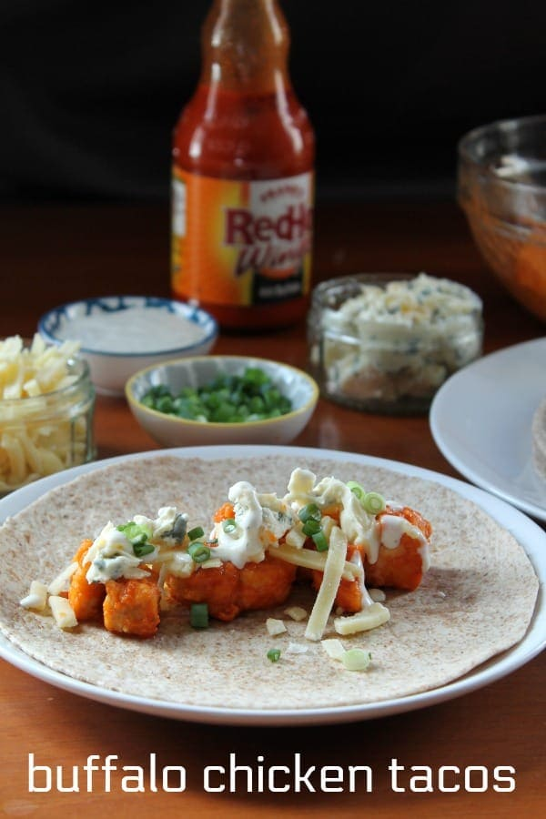 Buffalo Chicken Tacos | How to Be Awesome on $20 a Day