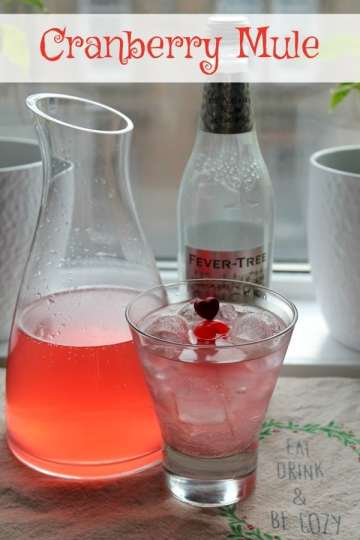 Cranberry Mule | How to be Awesome on $20 a Day