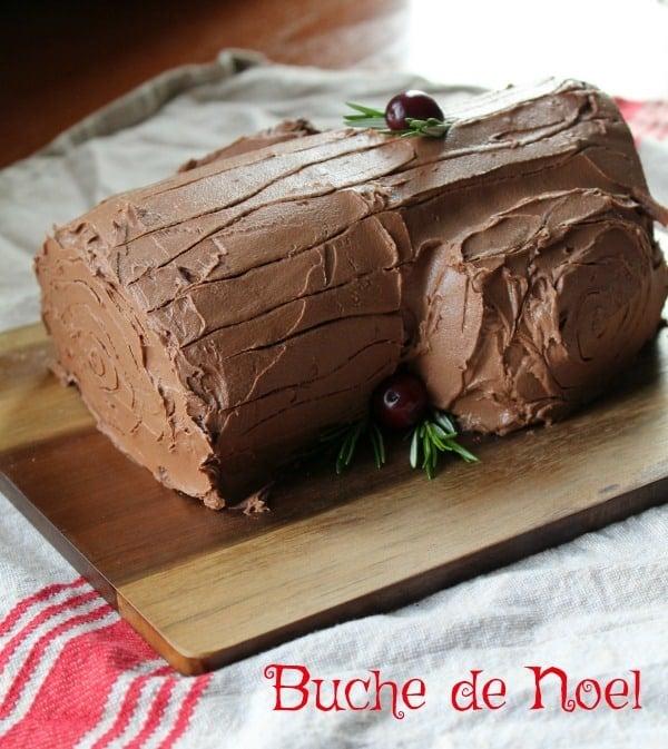 Buche noel image