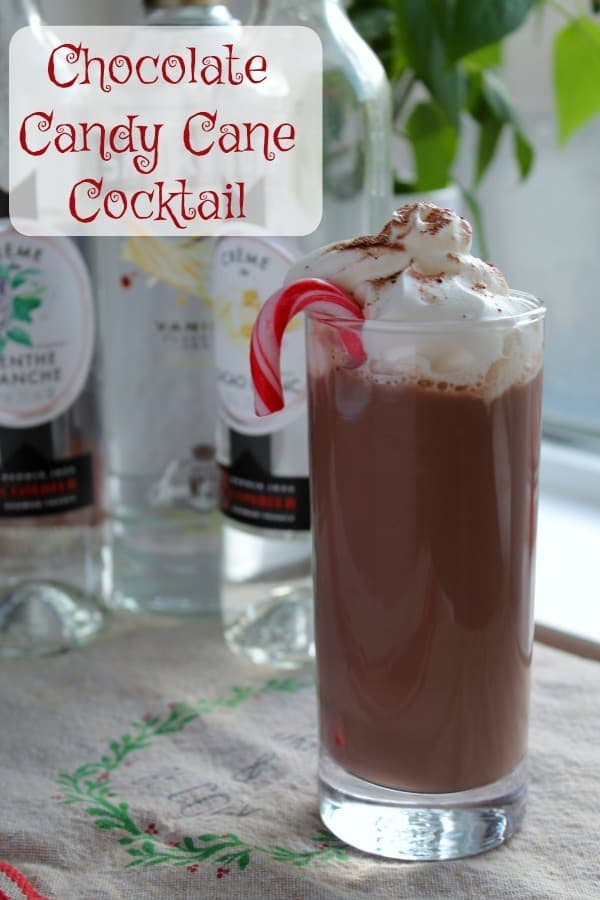 Chocolate Candy Cane Cocktail   How to be Awesome on $20 a Day
