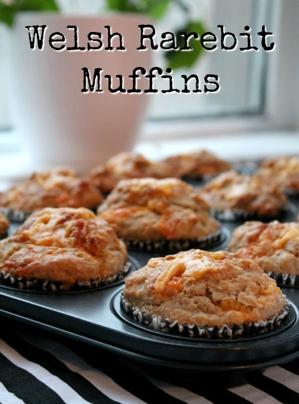 Welsh Rarebit Muffins | How to be Awesome on $20 a Day