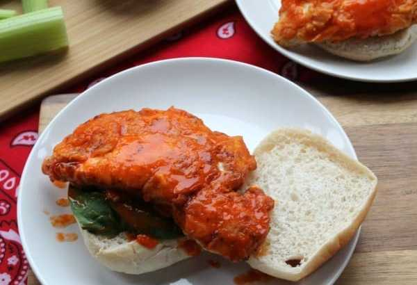 Buffalo Chicken Burger | How to be Awesome on $20 a Day