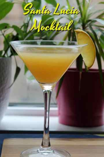 Santa Lucia Mocktail   How to be Awesome on $20 a Day