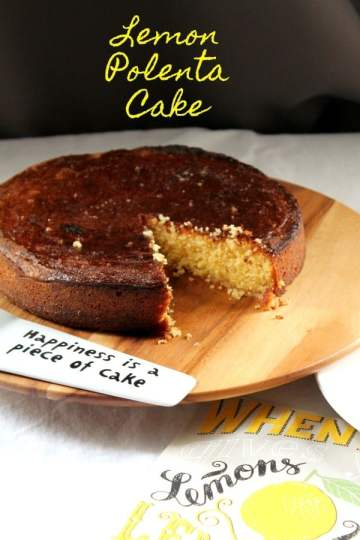 Lemon Polenta Cake | How to be Awesome on $20 a Day