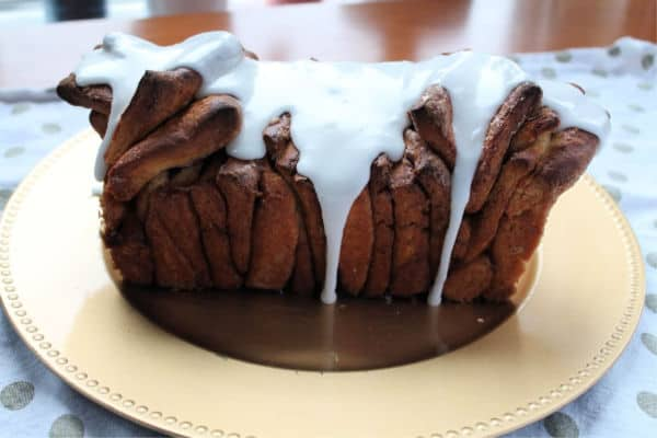 Cinnamon Pull-Apart Cake   How to be Awesome on $20 a Day