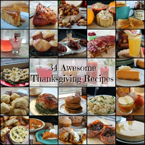 34 Awesome Thanksgiving Recipes
