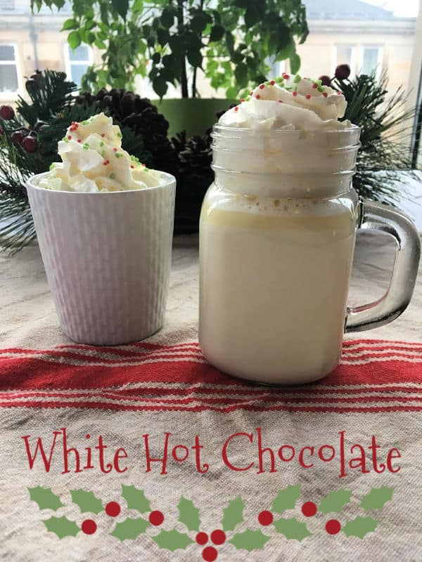 White Hot Chocolate | How to be Awesome on $20 a Day